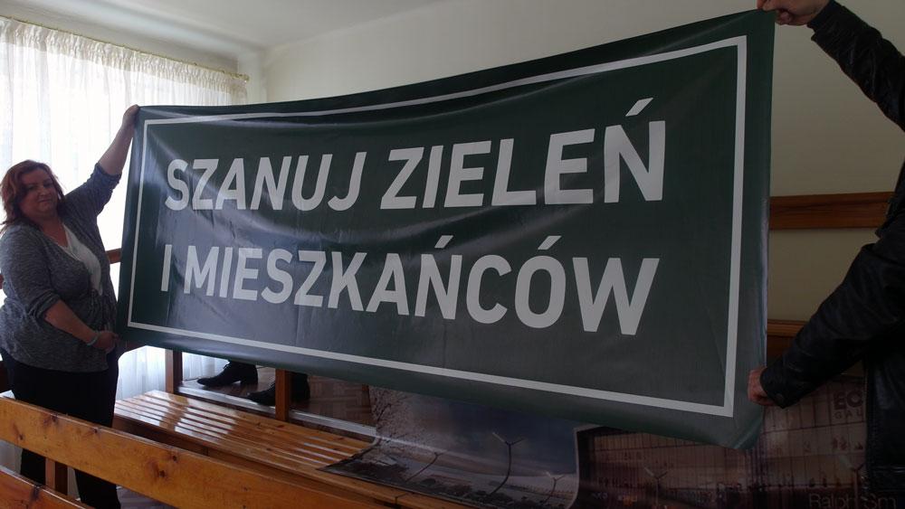 Mieszkańcy na sesji Rady Miasta Katowice / fot. InfoKatowice.pl