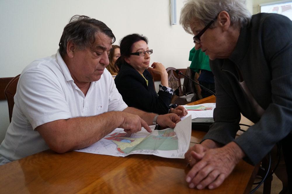 Mieszkańcy w trakcie dyskusji nad planem dla Muchowca