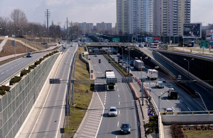 DTŚ tunel panorma samochody